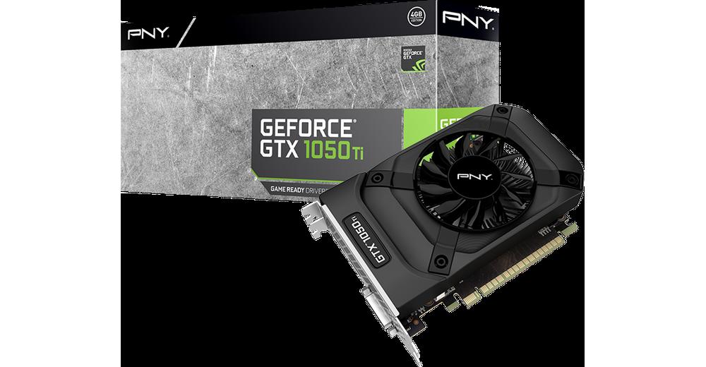 reinado Real web  PNY GeForce GTX 1050 Ti 4GB [VCGGTX1050T4PB] - SoloTodo