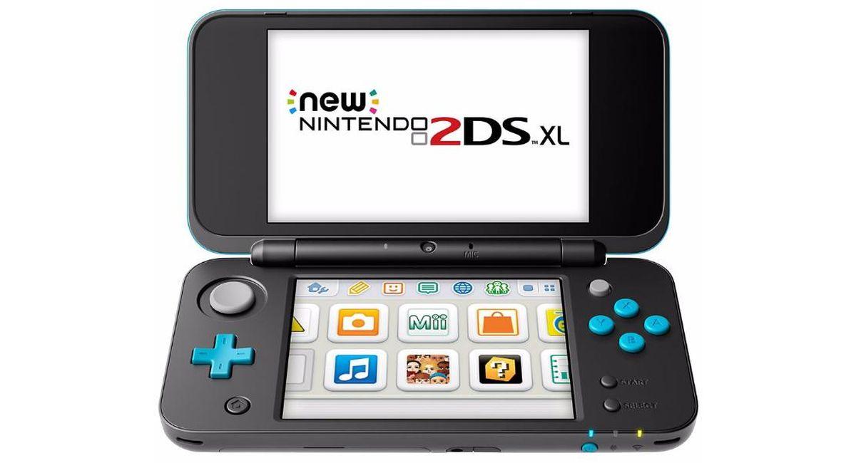 Nintendo New 2ds Xl Negra Turquesa Solotodo