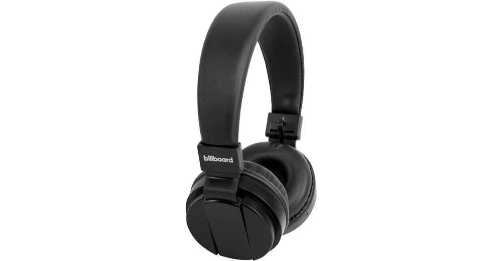 712f231886c Billboard Large On-Ear Bluetooth Headphones - Black (BB499) - SoloTodo